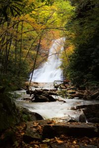 Cascade in the fall