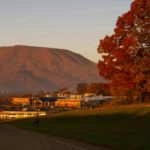 Fall view of Pearis Mtn in Giles County