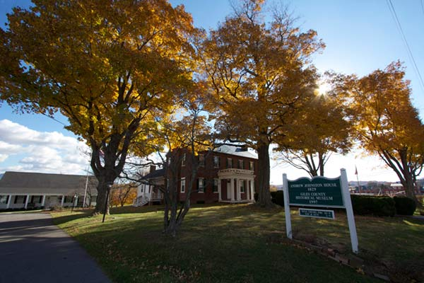 Andrew Johnston House in Pearisburg, VA