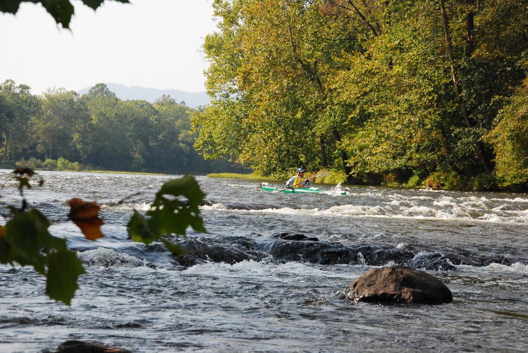 20170711_Virginia_New River Kayaking Whitewater