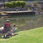 Fishing at The Narrows Town Park
