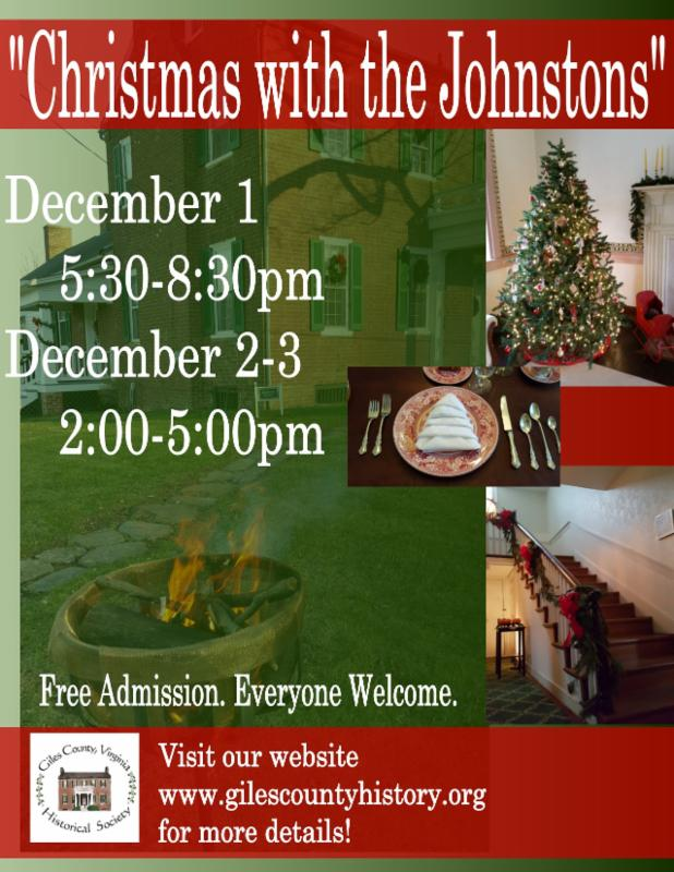 Historical Society Christmas event details