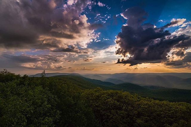 Wind Rocks in Giles County by Billy Bowling
