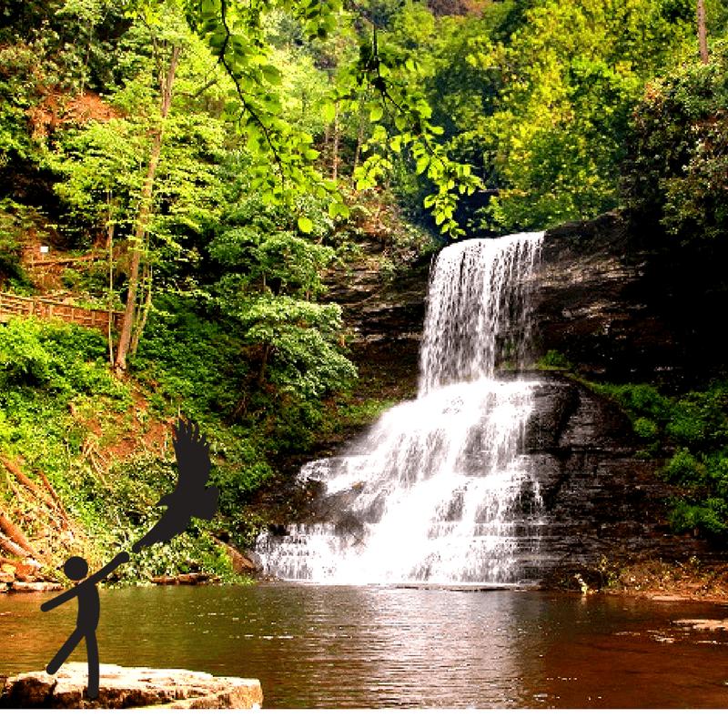 Cascades Waterfall Giles County