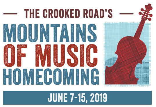 Mountains of Music Homecoming 2019 logo
