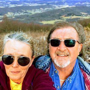 selfie of Mr & Mrs Fletcher