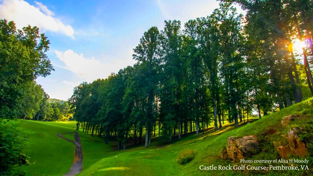 Castle Rock Golf Course, Pembroke, VA