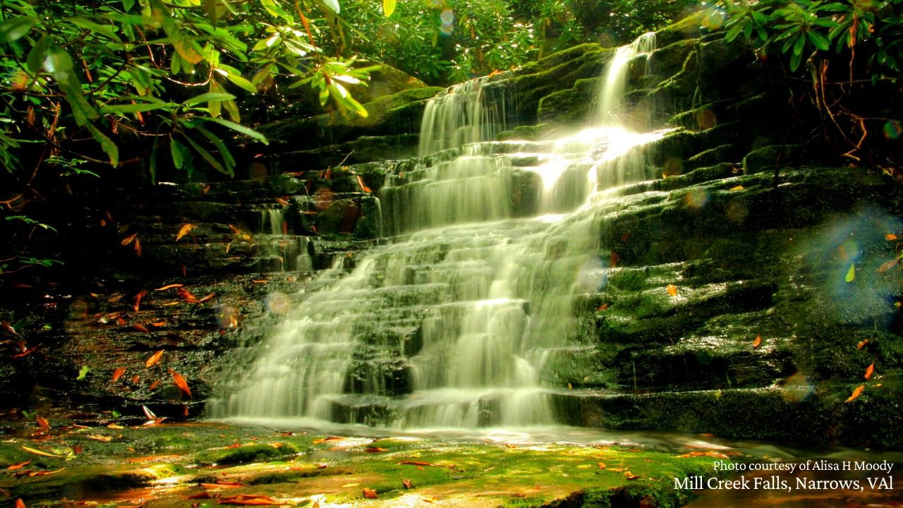 Mill Creek Falls, Narrows, VA