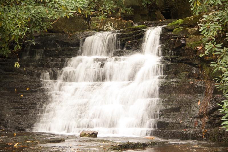 Mill Creek Falls, in Giles County, VA